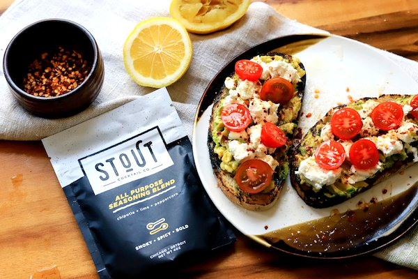 Image of Top avocado toast with crumbled feta cheese. Drizzle with olive...
